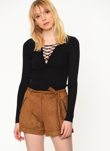 Bağcık Detaylı Sweatshirt-Only
